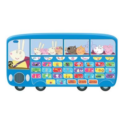 Le bus alphabet de peppa pig jeux et jouets taldec avenue des jeux - Fusee peppa pig ...