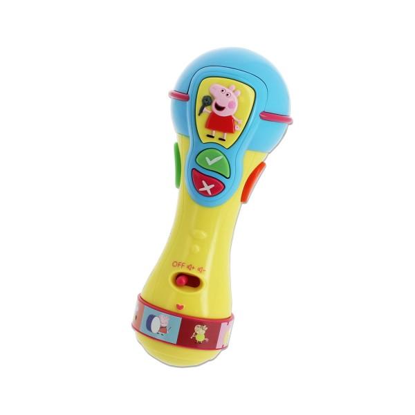 Mon premier micro ducatif et musical peppa pig jeux et jouets taldec avenue des jeux - Fusee peppa pig ...