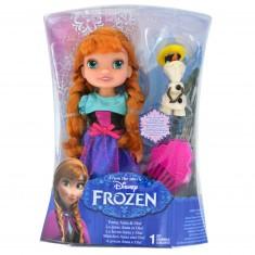 Poupée La Reine des Neiges (Frozen) 17 cm : La jeune Anna et Olaf