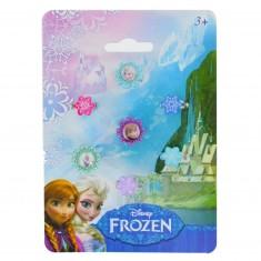Set de 7 bagues La Reine des Neiges (Frozen)