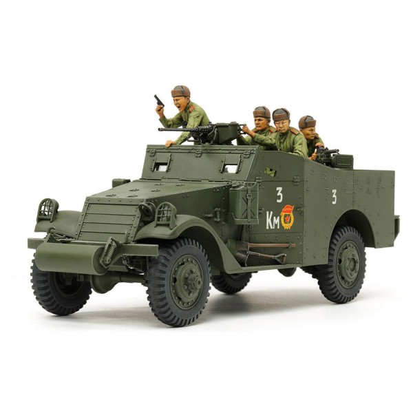 Maquette véhicule militaire : M3A1 Scout Car - Tamiya-35363