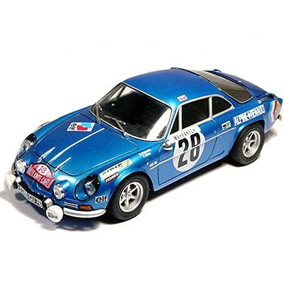 Maquette voiture : Alpine Renault A110 Monte-Carlo 71 - Tamiya-24278