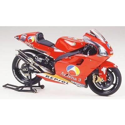 Maquette Moto: Antena 3 Yamaha D'Antin YZR500 02 - Tamiya-14091