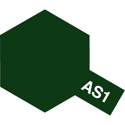 AS1 - Bombe aérosol - 90 ml : Vert Foncé - Tamiya-86501