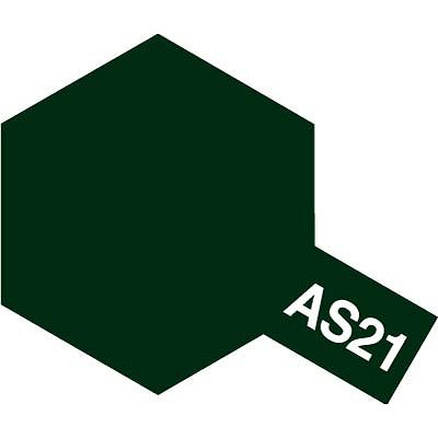 AS21 - Bombe aérosol - 90 ml : Vert Foncé Nuit - Tamiya-86521