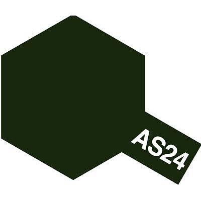 AS24 -  Bombe aérosol - 90 ml : Vert Foncé - Tamiya-86524