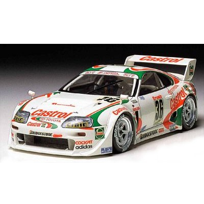 Maquette voiture : Castrol Toyota Tom's Supra - Tamiya-24163