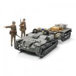 Maquette Chenillette Renault UE avec figurines