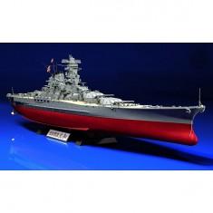 Maquette bateau: Cuirassé Japonais Yamato