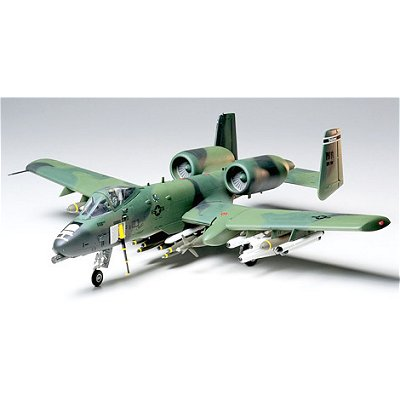 Maquette avion: Fairchild Republic A-10A Thunderbolt II - Tamiya-61028
