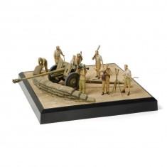 Figurines Militaires : Canon PAK 36 + servants