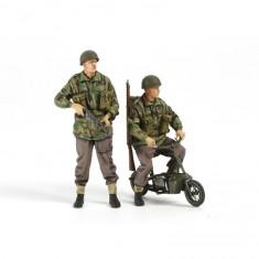 Figurines Militaires : Paras Britanniques & Mini-Bikes
