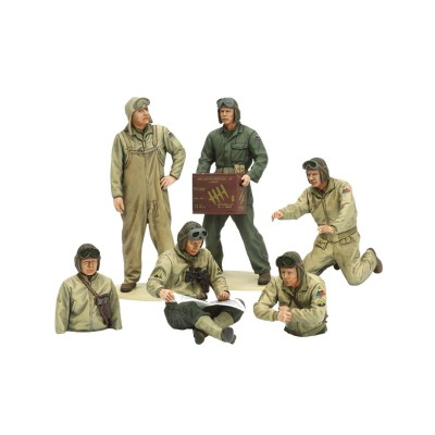 Figurines militaires : Tankistes US 2ème GM - Tamiya-35347