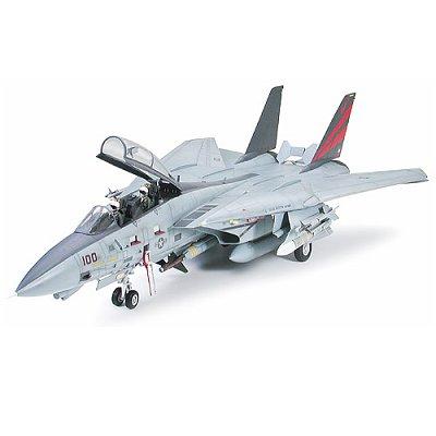 Maquette avion: Grumman F-14A Tomcat Black Knights - Tamiya-60313