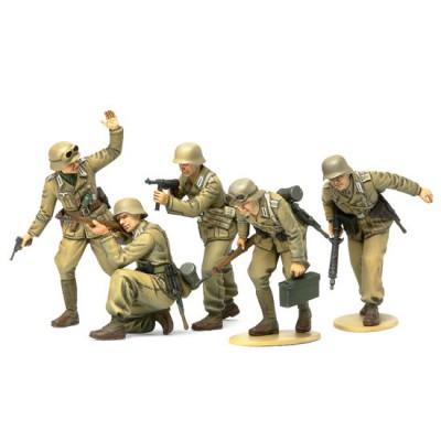 Figurines 2ème Guerre Mondiale : Infanterie Afrika Korps - Tamiya-35314