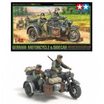 Maquette 1/48 : Sidecar allemand