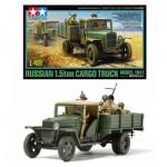Maquette camion 1/48 : Camion soviétique 1.5 T