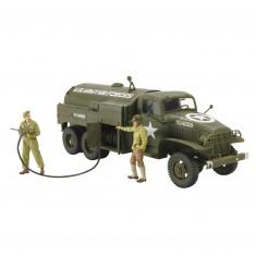 Maquette camion citerne aérodrome militaire US