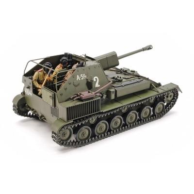 Maquette Char : Canon Automoteur SU-76M - Tamiya-35348