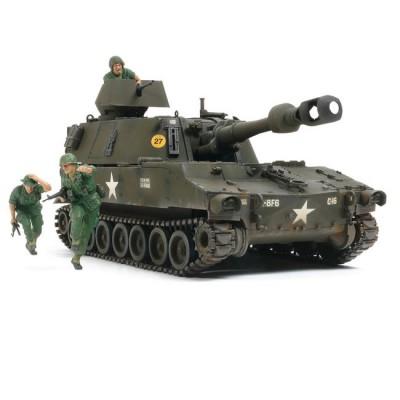 Maquette char : Obusier US M109 Vietnam - Tamiya-37013