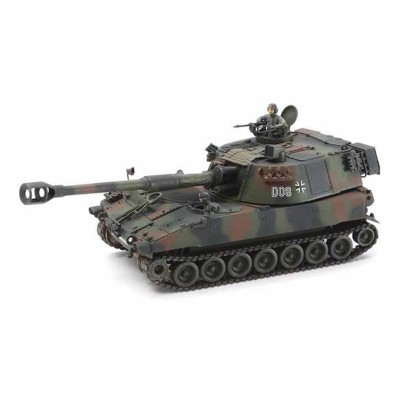 Maquette char allemand : Obusier Automoteur M109A3G - Tamiya-37022