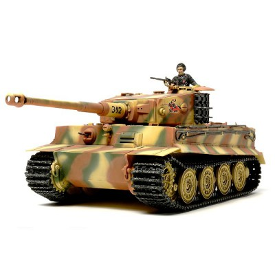 Maquette char allemand Tiger I : Late Production - Tamiya-32575