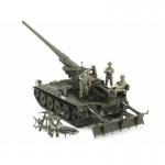 Maquette militaire : Canon Automoteur US M107