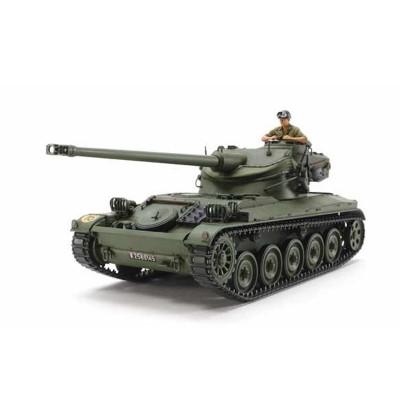 Maquette militaire : Tank français AMX-13/75 - Tamiya-35349