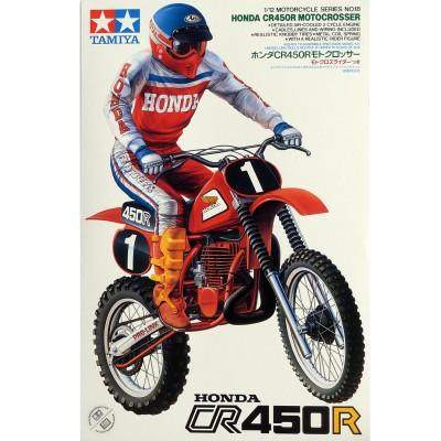 Maquette Moto : Honda DR450R Motocross - Tamiya-14018