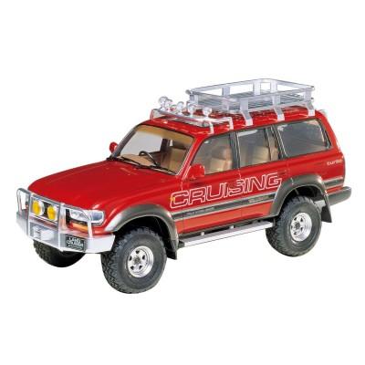 Maquette voiture : Toyota Land Cruiser 80 + Options - Tamiya-24122