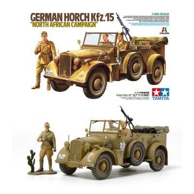 Maquette voiture 1/35 : Horch KFZ.15 - Tamiya-37015