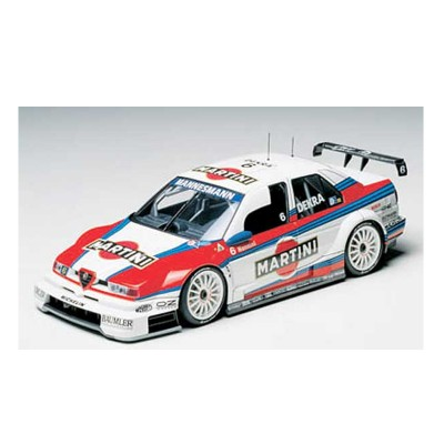 Maquette voiture de course : Alfa Romeo 155 V6 TI Sponsor Martini - Tamiya-24176