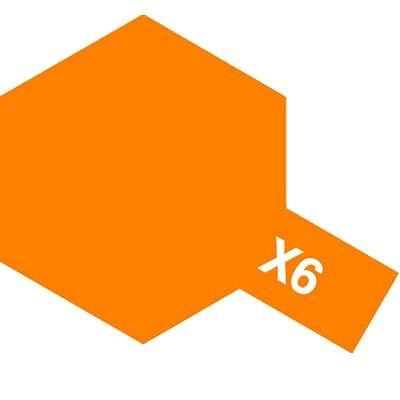 Mini X6 - Orange Brillant - Tamiya-81506