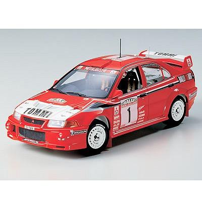 Maquette voiture : Mistubishi Lancer Evolution VI WRC - Tamiya-24220