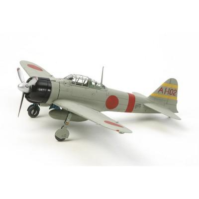 Maquette avion: Mitsubishi A6M2b (ZEKE) - Zero Fighter - Tamiya-60780