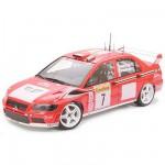 Maquette voiture : Mitsubishi Lancer Evolution VII WRC