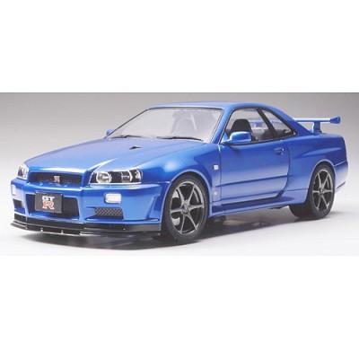 Maquette voiture: Nissan Skyline GT-R V.spec II - Tamiya-24258
