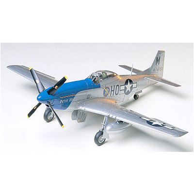 Maquette avion : North American P-51D Mustang 8th AF - Tamiya-61040