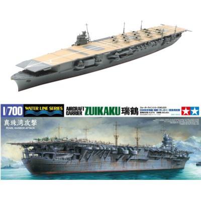 Maquette bateau: Porte-avions japonais Zuikaku: Pearl Harbor 1941 - Tamiya-31223
