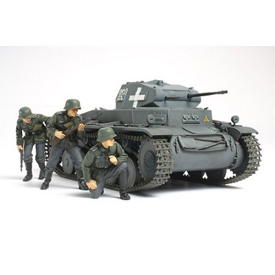 Maquette Char: Panzer II Ausf.C Pologne 1939 - Tamiya-35299