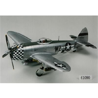 Maquette avion: Republic P 47D Thunderbolt Bubbletop - Tamiya-61090