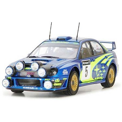 Maquette voiture : Subaru Impreza WRC 2001 Rally of Great Britain - Tamiya-24250