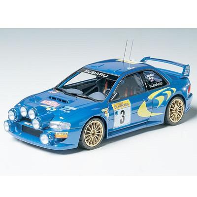 Maquette voiture : Subaru Impreza WRC Monte-Carlo 98 - Tamiya-24199