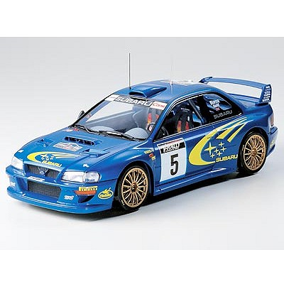 Maquette voiture : Subaru Impreza WRC 99 - Tamiya-24218