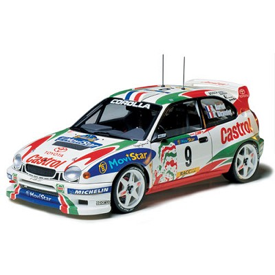 Maquette voiture : Toyota Corolla WRC - Tamiya-24209