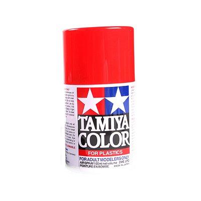 TS 12 - Bombe aérosol - 90 ml :  Orange Brillant : NSR 500 99 - Tamiya-89829