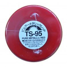 TS-95 - Bombe de peinture aérosol - 90 ml : Rouge Pur Métallisé