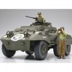 Maquette M20: U.S. Armored Utility Car avec figurines