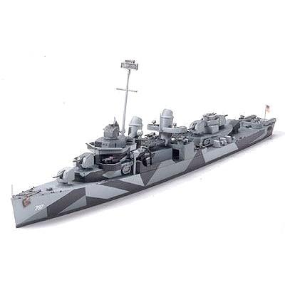 Maquette bateau: Destroyer DD797 USS Cushing - Tamiya-31907