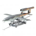 Maquette fusée: Bombe volante V1